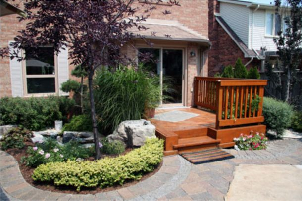 Custom Woodwork and Landscape