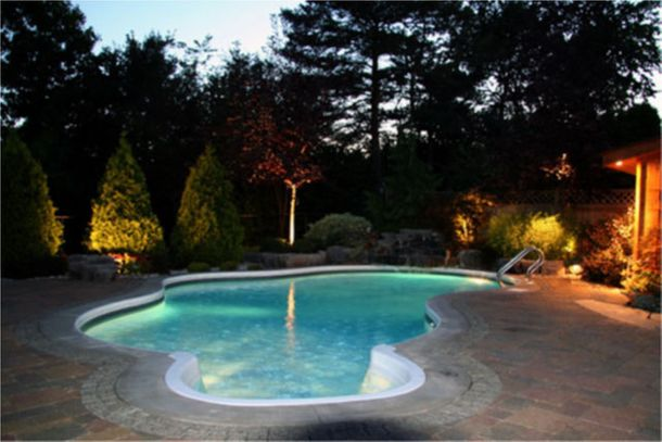 Oakville Oasis Nightlighting